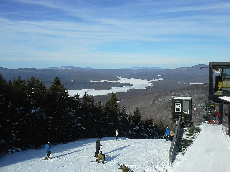 When mt snow Has snow its a good time almost all tails open with only acouple with thin cover north face was great and all the green trails were well groomed got skied over at end of day a.little icey but that usual. Pce vt till next week _ct_