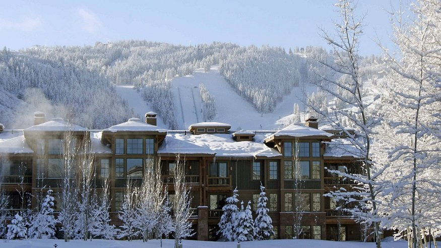 Deer Valley lodge, USA