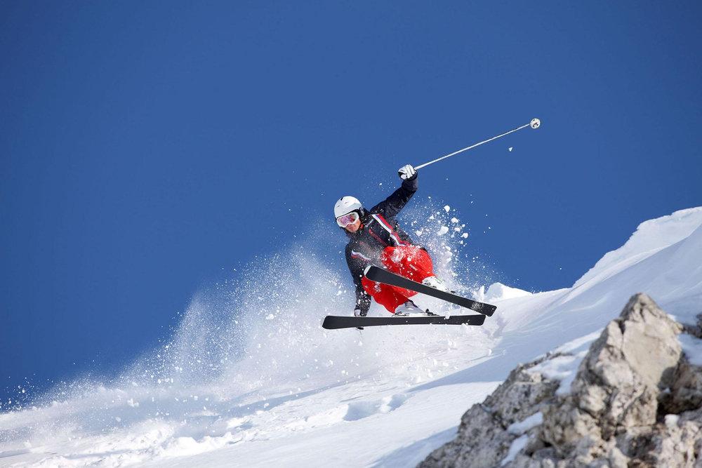 Freeriden im Val di Fassa - © Visit Trentino / Alessandro Trovati