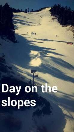 up here for my birthday,  can't really complain,  juat need better weather snow is great in the morning but around 11 its slush and jumps and jips start to suck, but props to bear n doing what's they have done