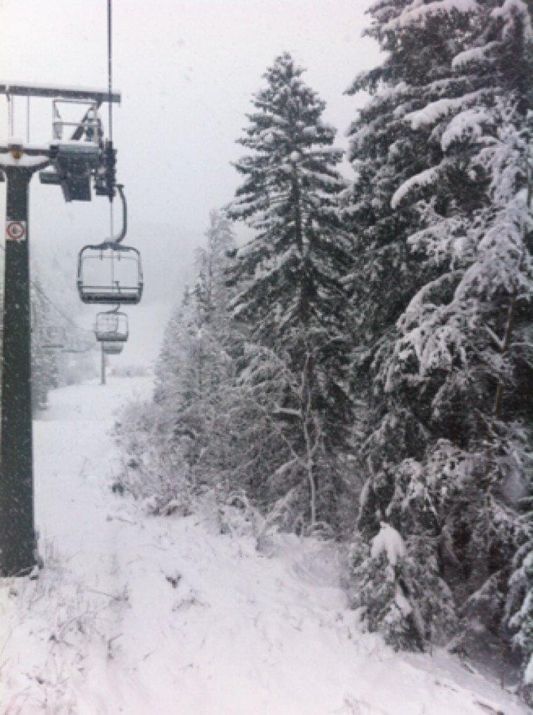 Risalita Tablat....finalmente neve!❄️❄️❄️ Una 30na di cm