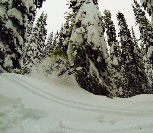 Still plenty of hidden goods, 4 days since last snow
