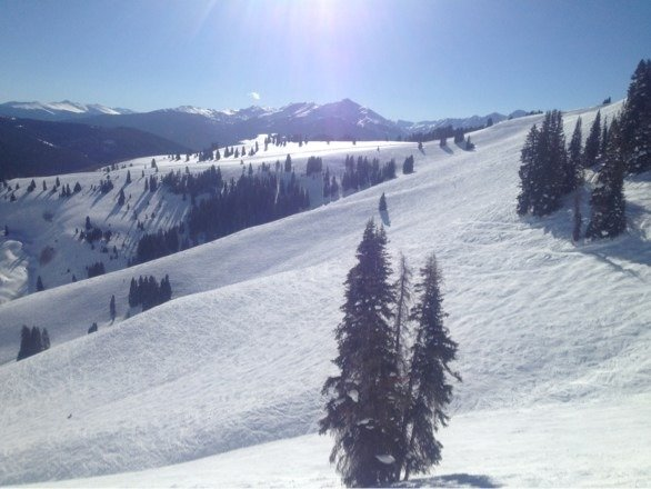 Back Bowl great yesterday.