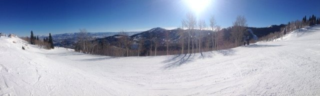 Awesome day/week up here so far, not busy at all with Sundance going on. Really needing some more snow though.