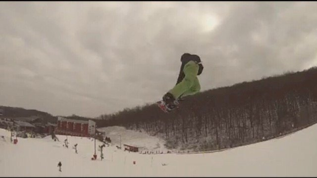 New snow sweet setup and finally some sick jumps.  Bc looking good get here it's worth it.