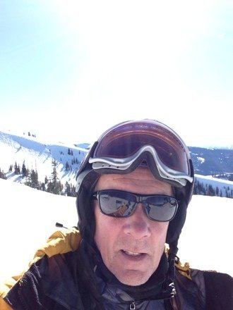 Great day!Sun shine and soft snow.