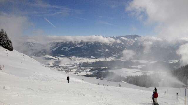 Gutes Wetter und guter Schnee...