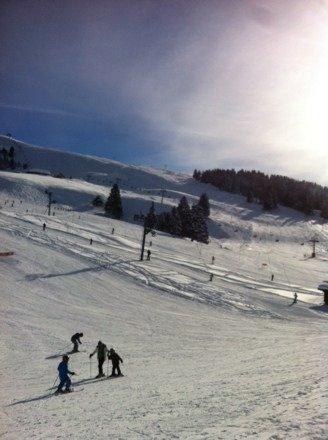 Samedi 25 janvier. Super neige et excellente journee ensoleillée.