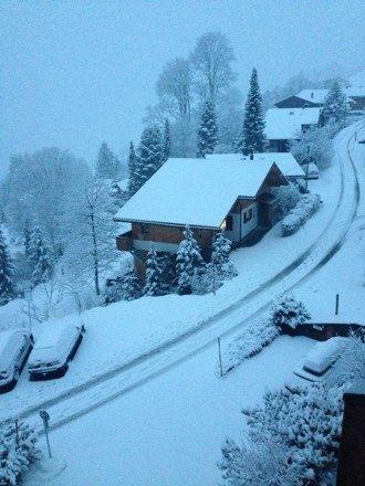 Endlich mal Schnee