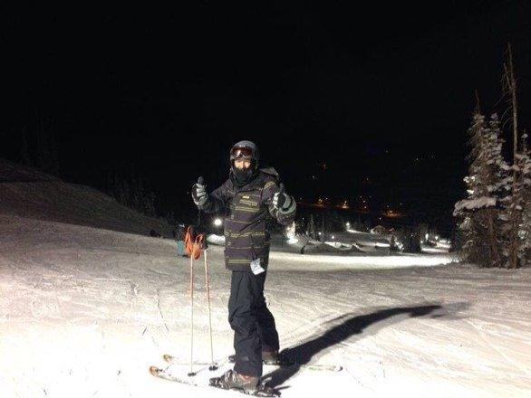 Awsome night skiing!!
