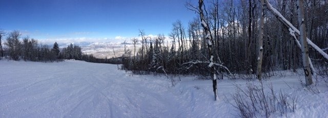 Good powder yesterday. Horrible lines. But worth the wait.