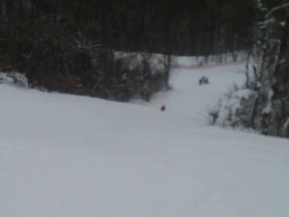 who cares how deep the base. great snow is great snow. fyi the first no. in the base report is the average depth. the larger no. is the stock pile of snow, mostly man made, that is used to keep slopes open when everyone else is closed! stop whinning and ski!