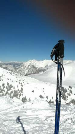 Top of Tucker on Sunday.  A must try, it was totally awesome