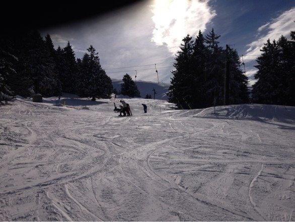 Très bonne neige et bon ski