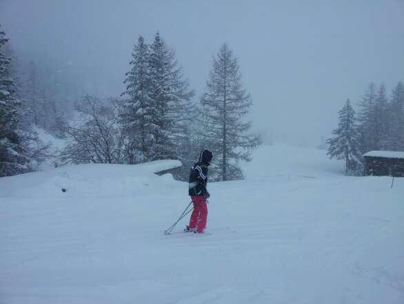 Friday. Val Cenis got 30cm fresh snow till noon ans still keeps falling.