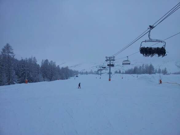 Friday 30cm fresh snow. Bye. left Val Cenis only to return next season.