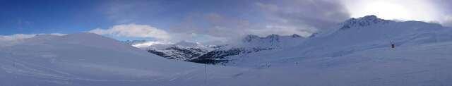 brouillard de neige le matin, découvert l'après-midi: que du bonheur !!!