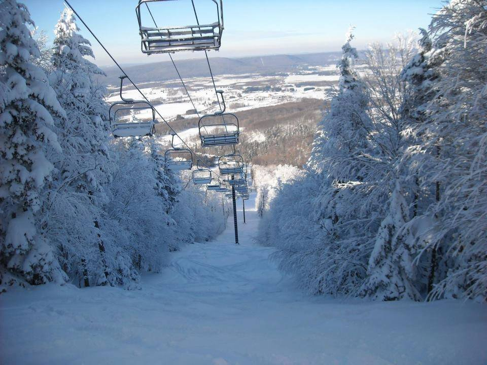 Expect some powder stashes for President's Day at Canaan Valley. - © Canaan Valley