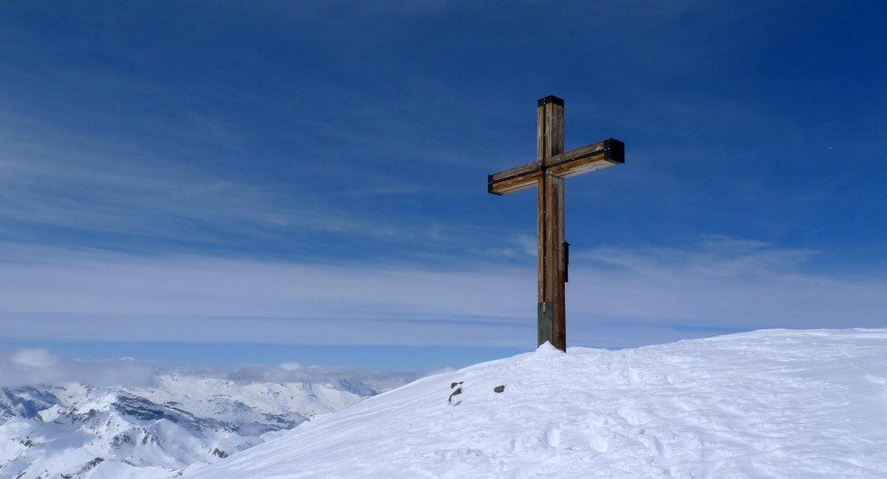 Am Gipfel des Piz Platta - © SkitourGuru.com