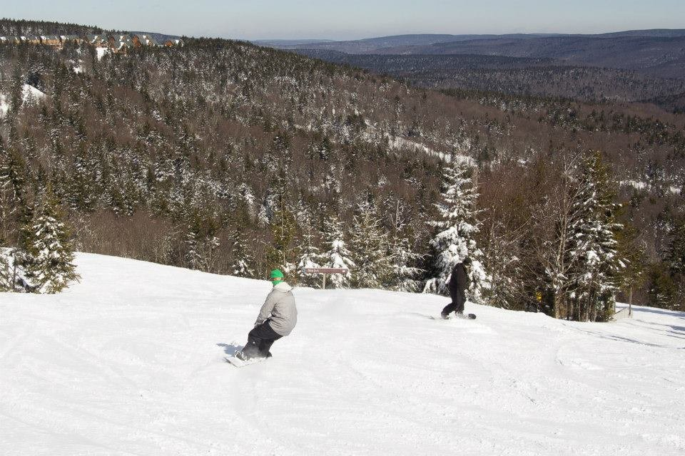 Mid-Atlantic conditions at their prime. - © Snowshoe Resort