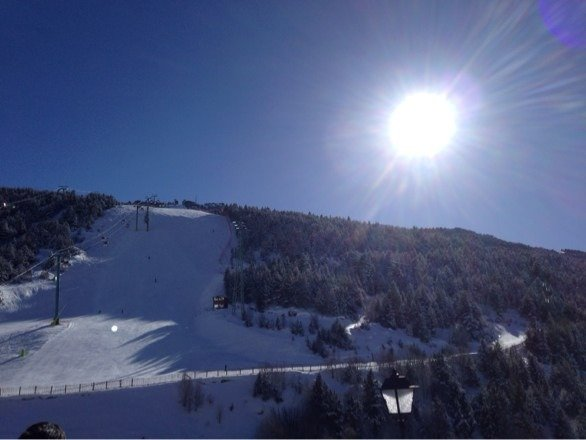Soldeu today ! Fab conditions today !!