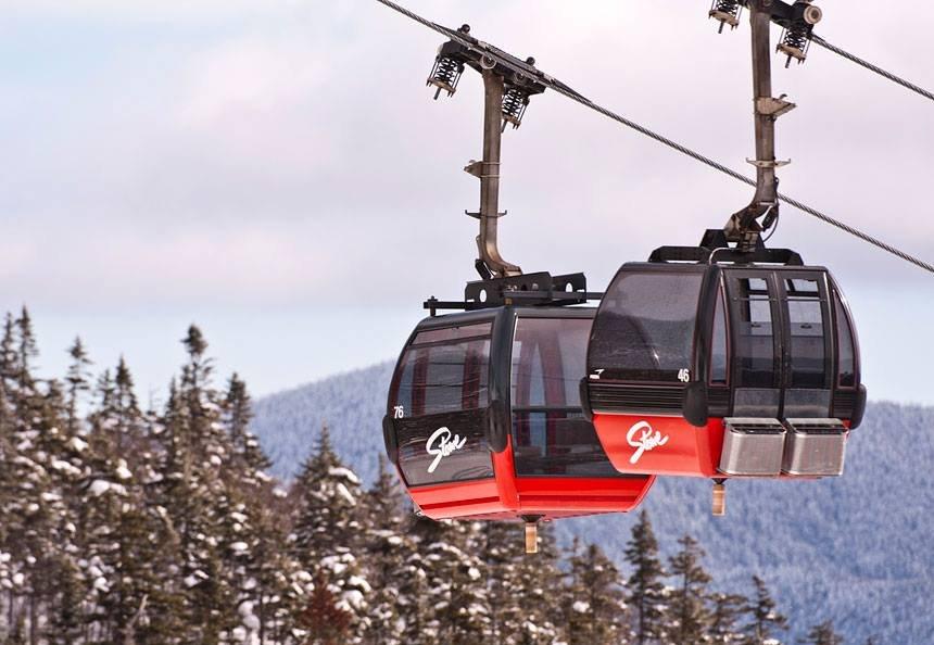 The best way to access Stowe's legendary terrain. - © Stowe Mountain Resort