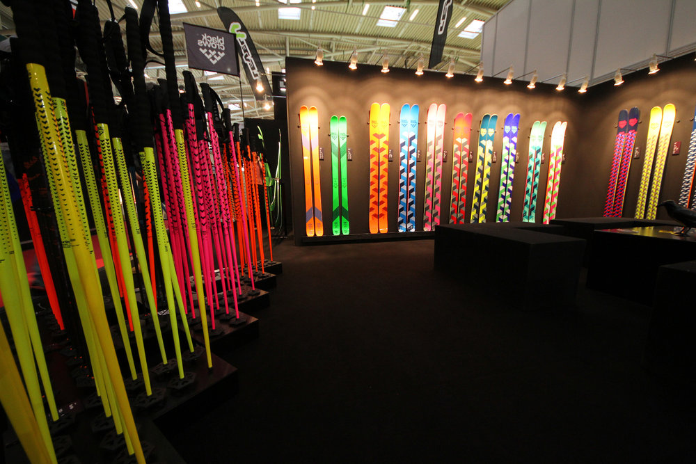 Black Crows skis at ISPO 2014 - © Skiinfo
