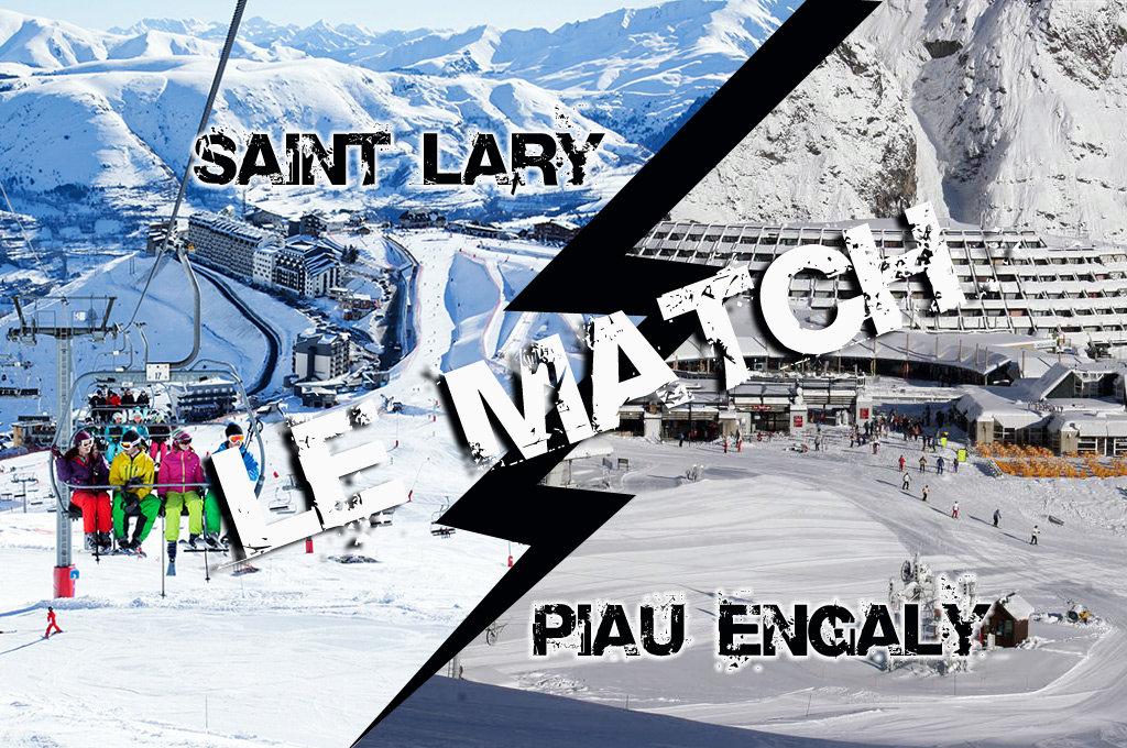 Match comparatif entre Saint Lary et Piau Engaly, deux stations majeures des Pyrénées...