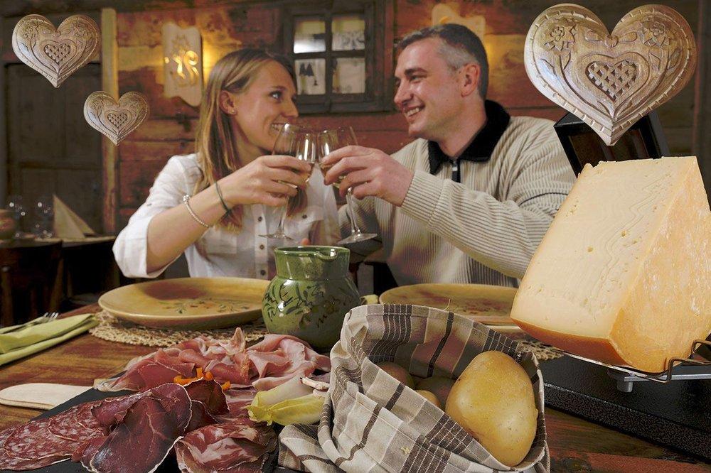 Détente et gastronomie en amoureux pour la Saint Valentin...