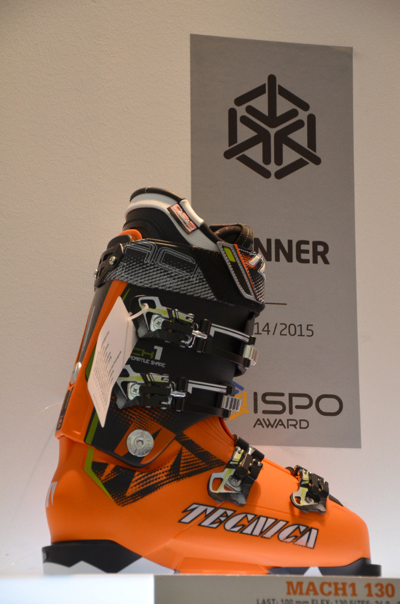 ISPO 2014 winner: Tecnica Mach 1 130 ski boots - © Skiinfo