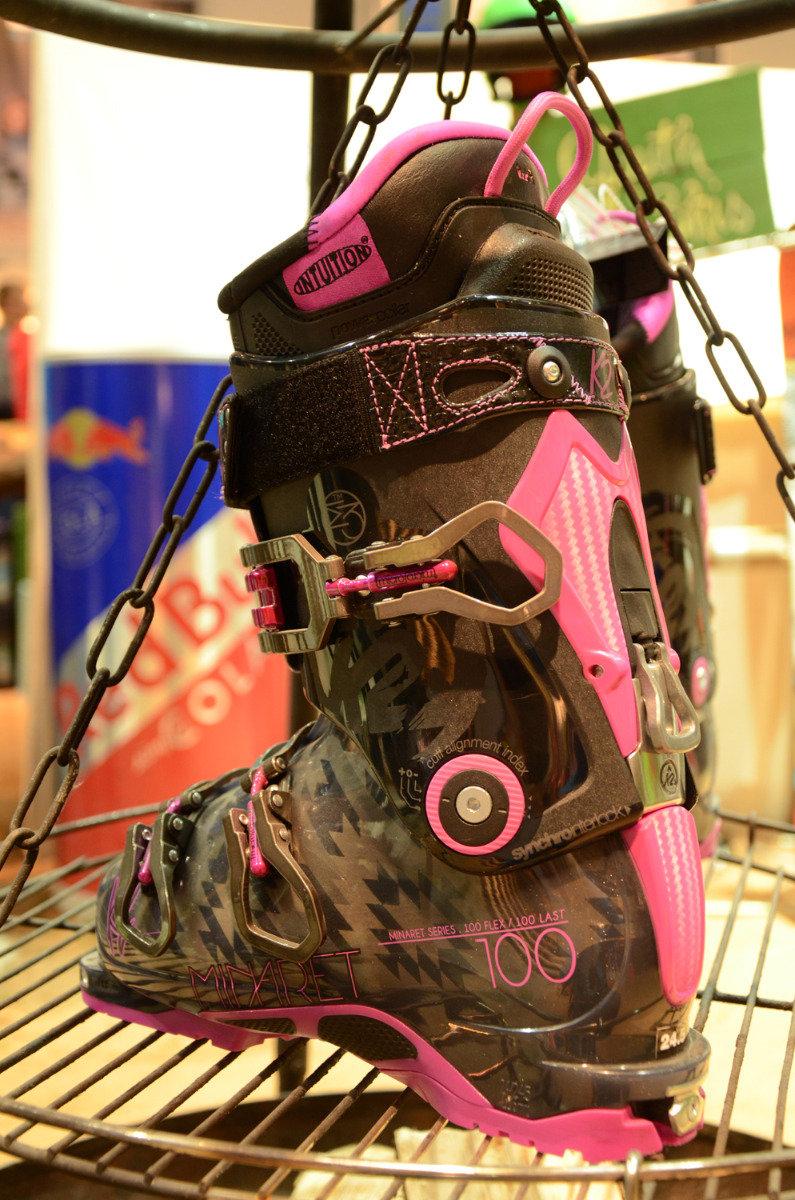 K2 Minarett 100 ski boots at ispo 2014  - © Skiinfo