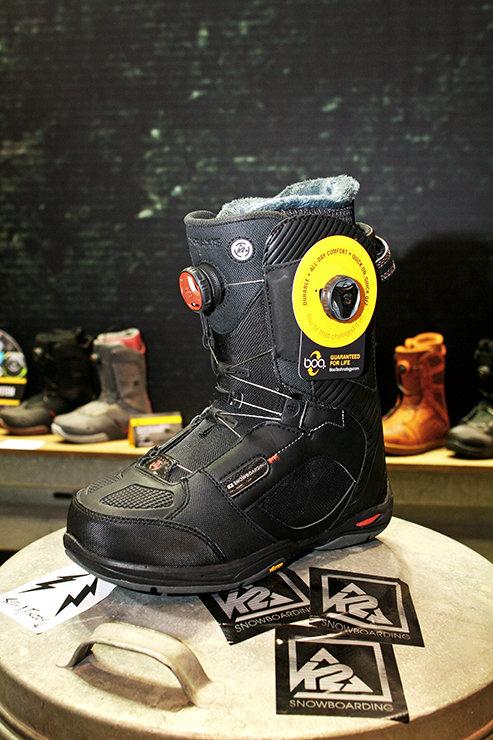 K2 snowboarding boots 2014/15 - © Stefan Drexl