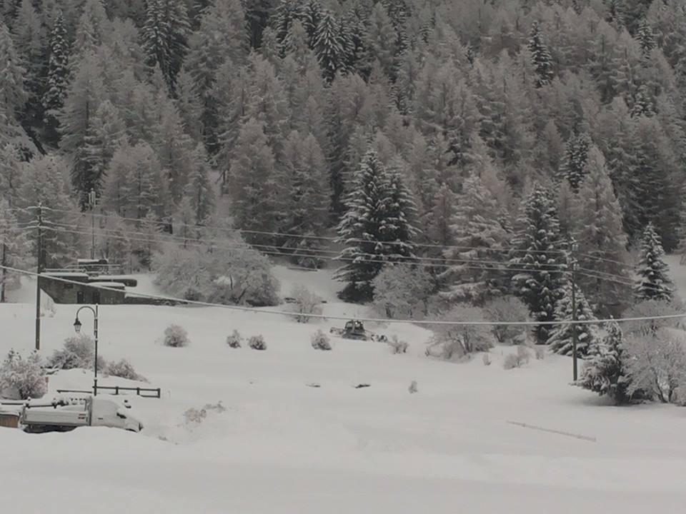 La Thuile, Neve fresca 14 Gen 2014