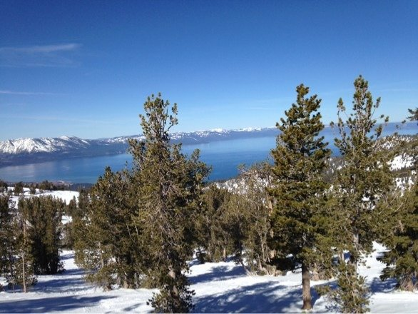 First time to Heavenly. Fair conditions, spectacular views.