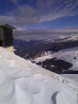 prima volta a Polsa   bel posto però due metri di. neve nei sogni