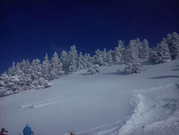 journée au top , beaucoup de neige , agréable à skier donc super :-)