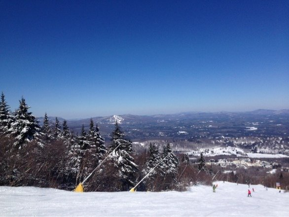 This pic was taken Friday and it was an amazing day on the mountain. I'll be back really soon.