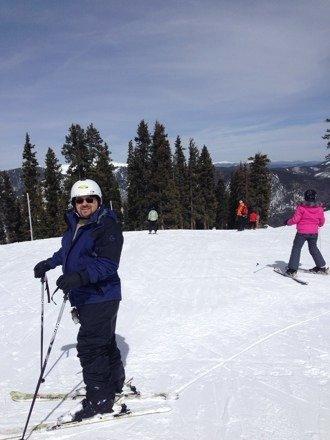 Best slopes this tenn girl ever been on.