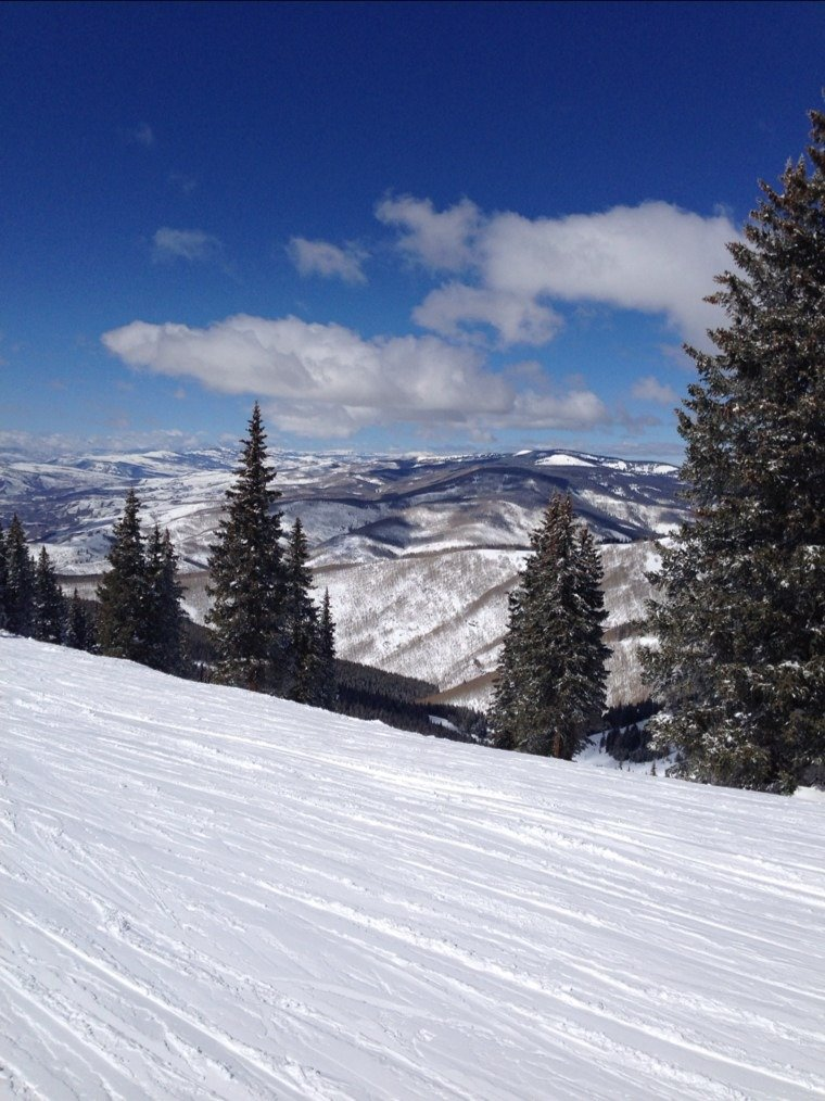 Very pretty day in Vail.