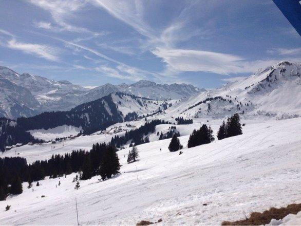 Very hot skiing - slush from 11 onwards