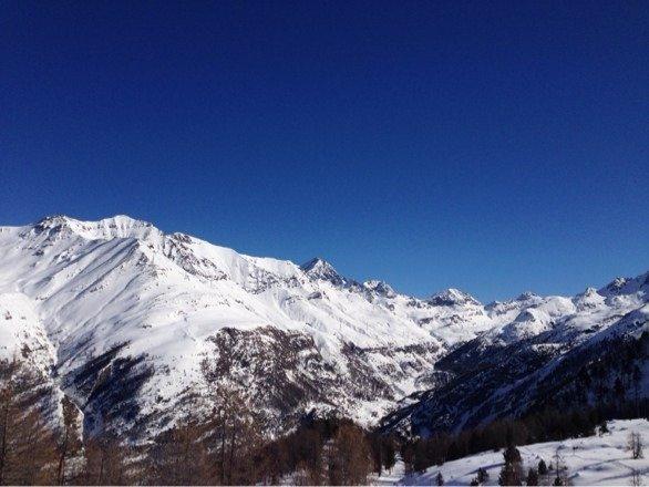 Cogne - Neve di Marzo 2014