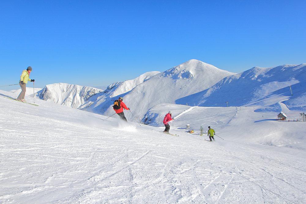 Ski sur le domaine du Mont Dore - © OT du Sancy