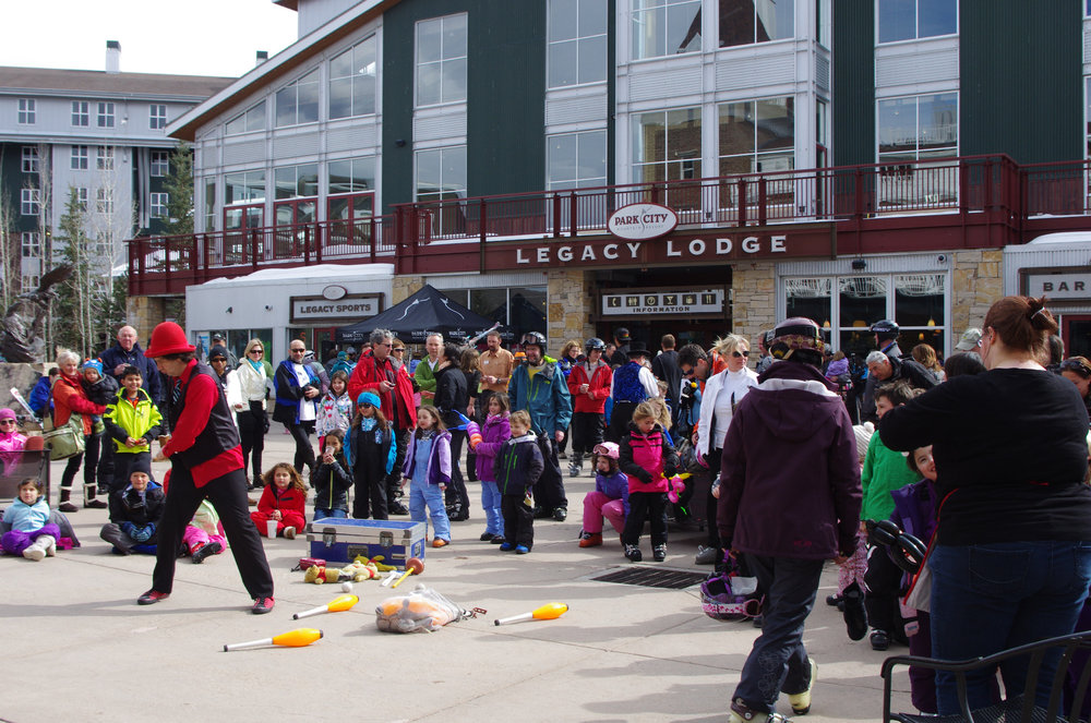 Park City Mountain Resort's Snowasis brings with it a slew of multi-day events, including a kids carnival, on-hill schwag scavenger hunts and avalanche dog demonstrations. - © Courtesy of Park City Mountain Resort