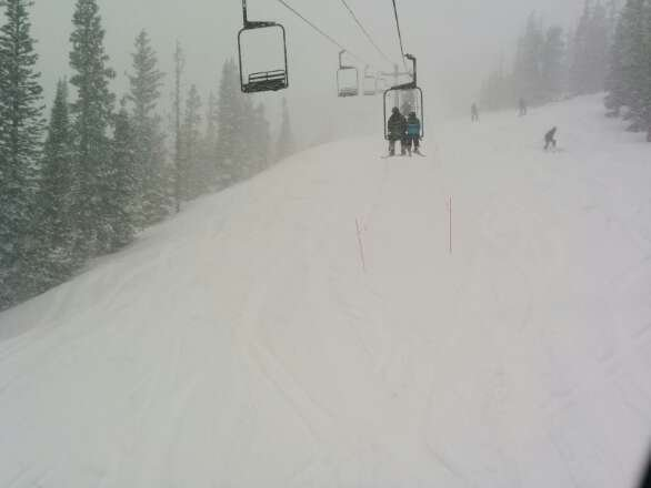 Epic day! Powder everywhere. Fresh tracks all day long