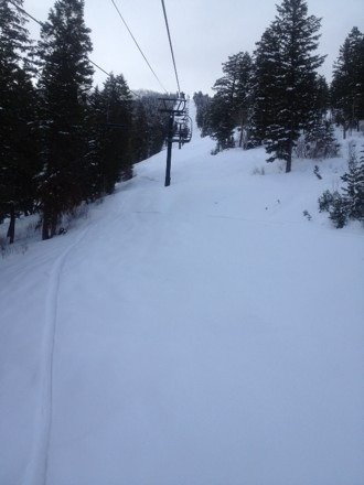 Best day of the year!! Can't wait till they open next season... So much pow and so many face shots.