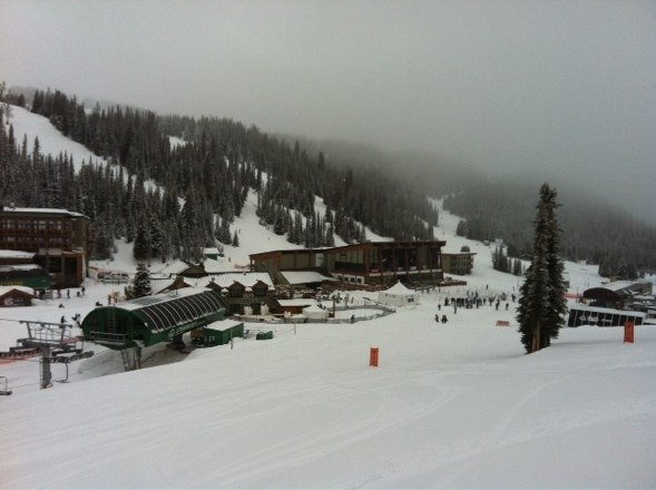 Come out and enjoy the fresh powder up here!