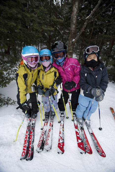 Parents can feel safe letting kids of a certain age venture off on their own at Okemo. - © Okemo Mountain Resort