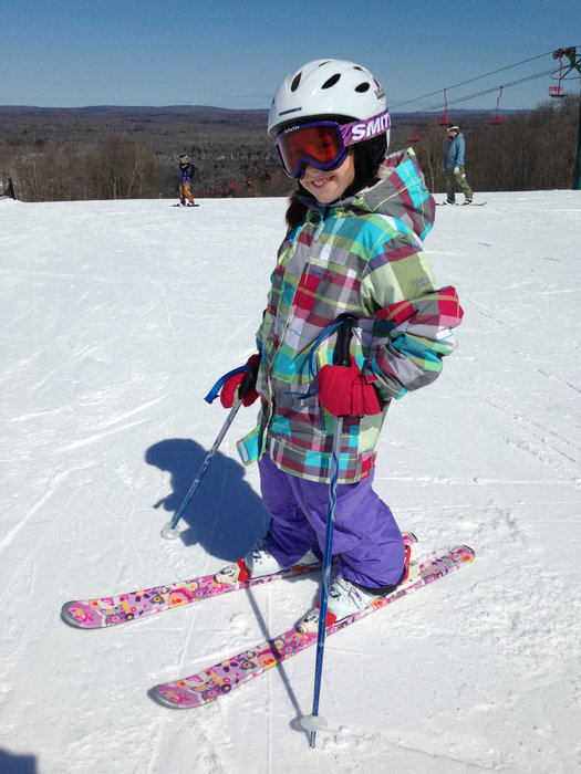 All smiles on a sunny day at Indianhead. - ©Indianhead Mountain Resort