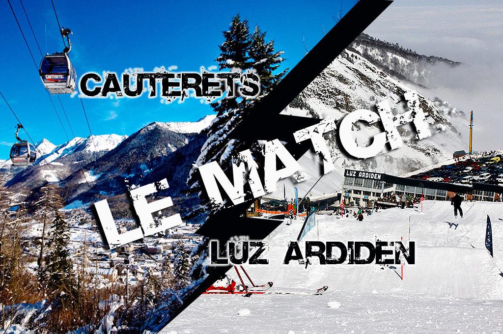 Match comparatif entre Cauterets et Luz Ardiden