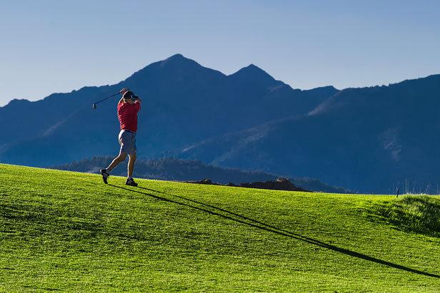 Golfing in Sun Valley